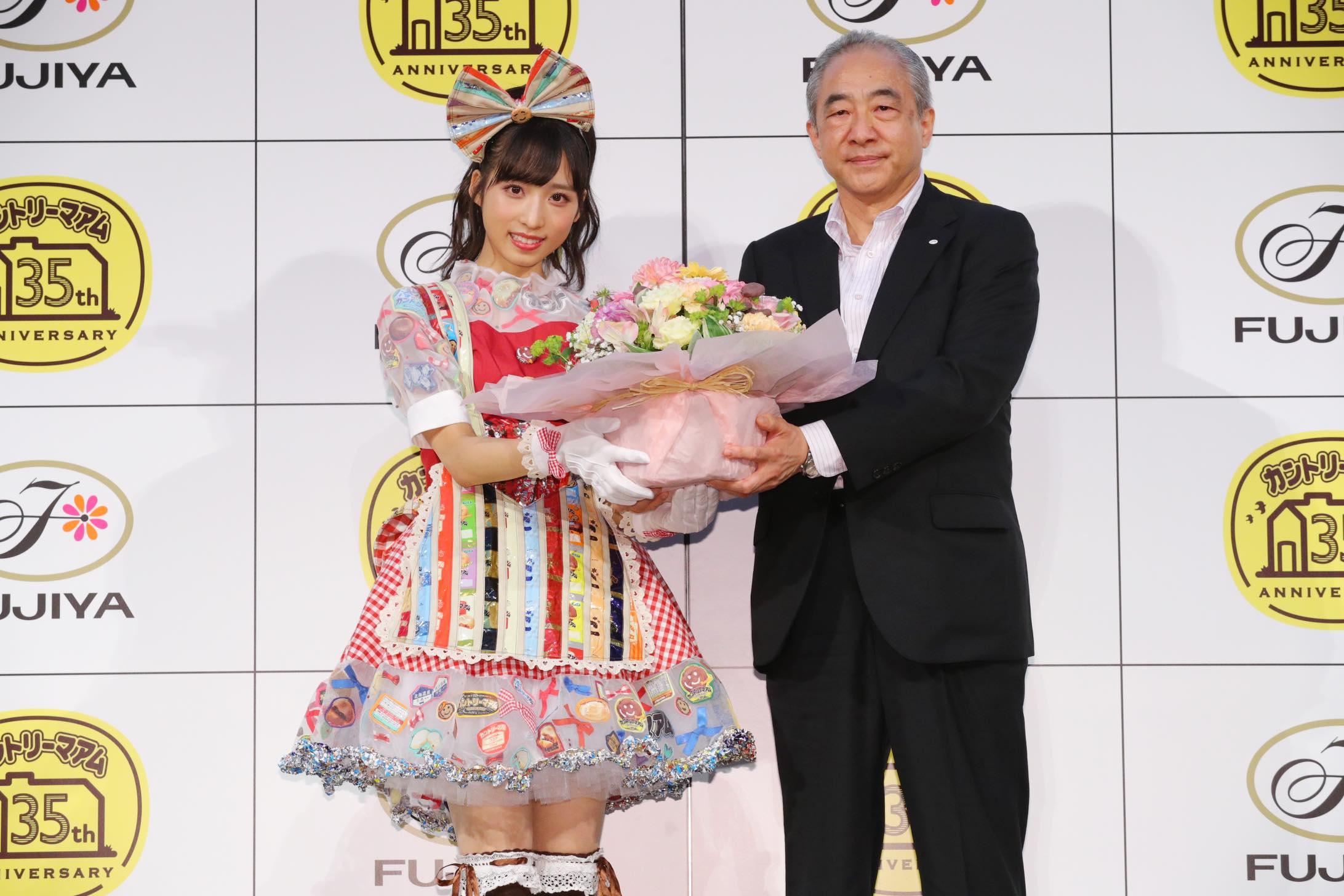 AKB48小栗有以「タピオカミルクティー味」をカントリーマアムの新味に提案【写真32枚】の画像026
