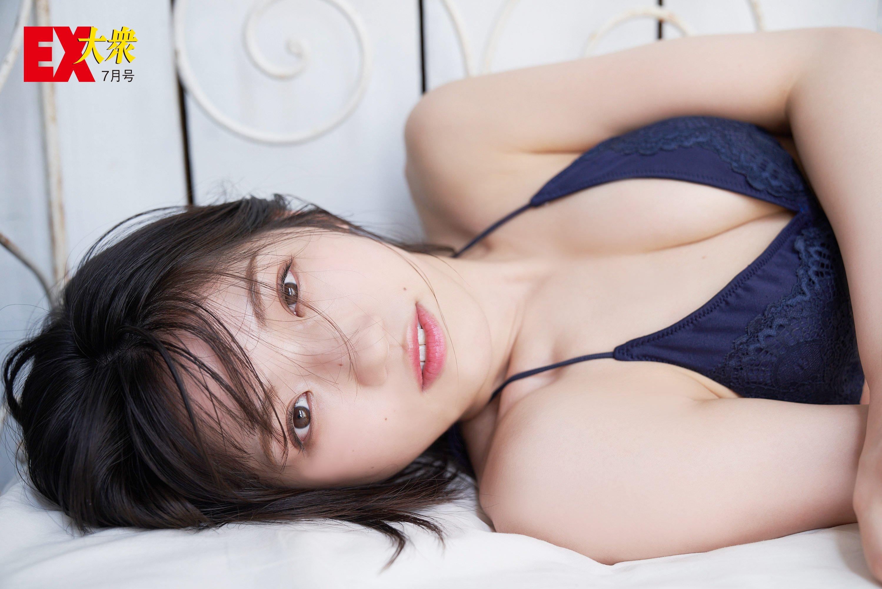 AKB48村山彩希の本誌未掲載カット10枚を大公開!【EX大衆7月号】の画像005