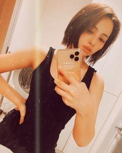 水崎綾女「タンクトップがセクシー!」美ボディ披露に反響【写真2枚】の画像