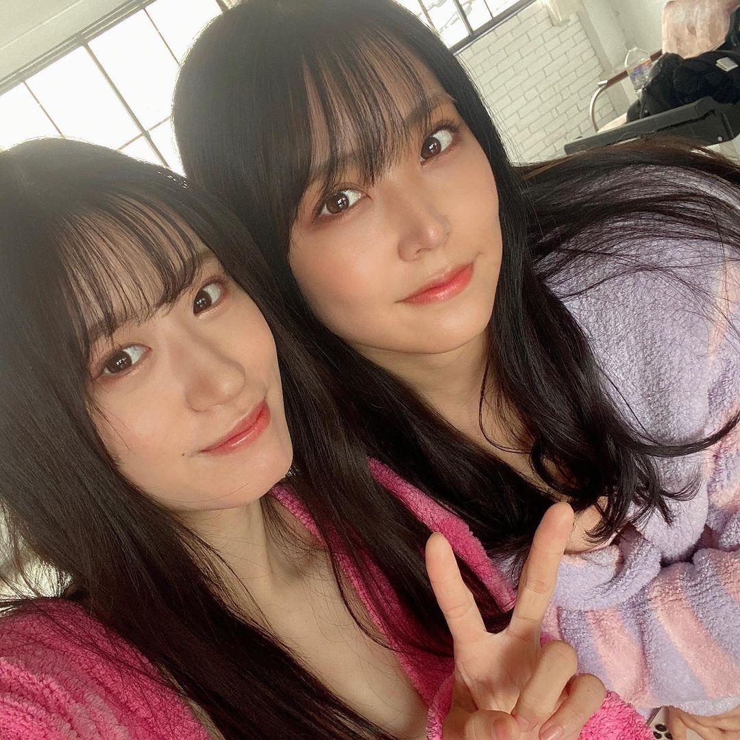 NMB48上西怜「紐ビキニで美スタイルが際立つ」白間美瑠とのツーショット公開にファン興奮【画像3枚】の画像003