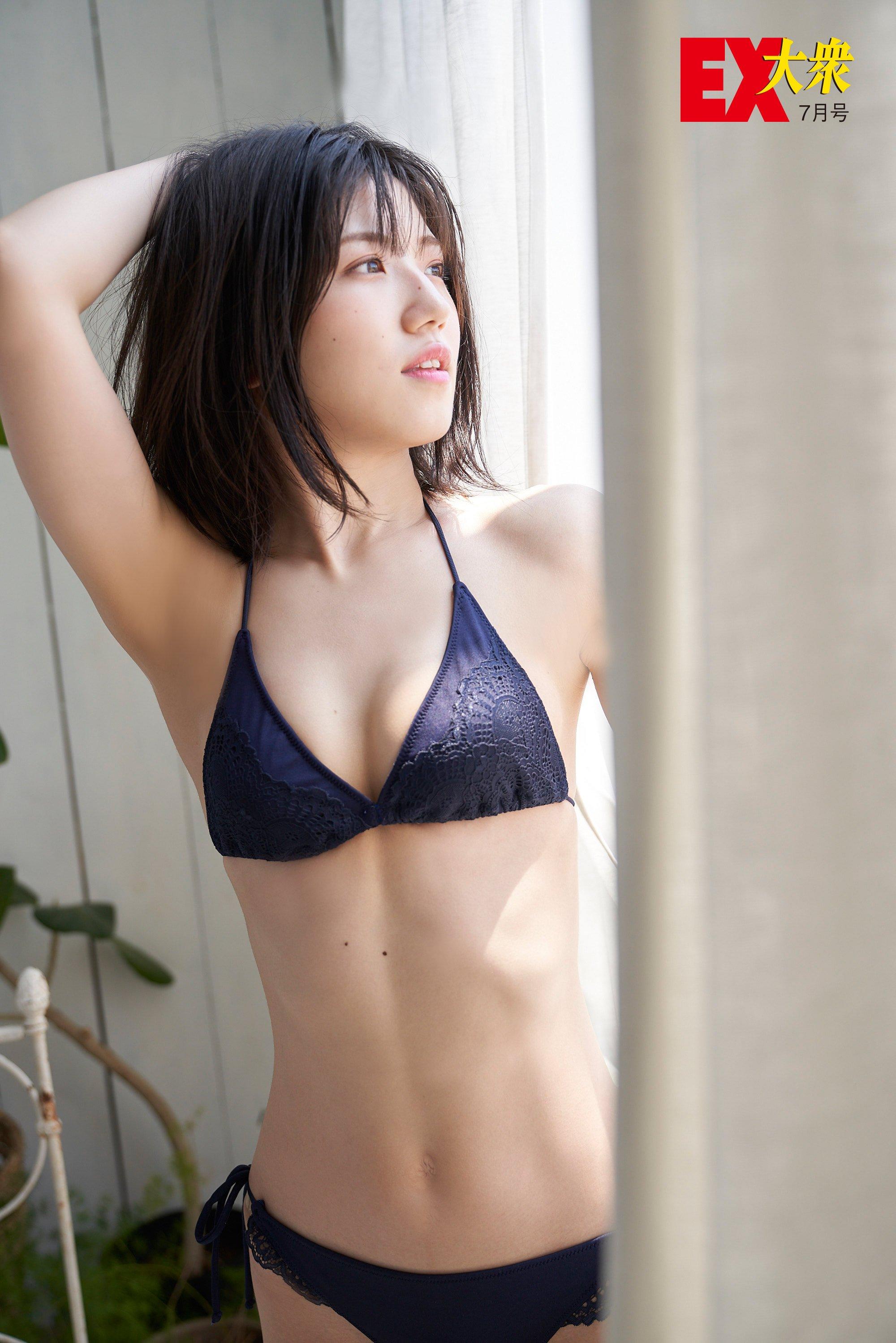 AKB48村山彩希の本誌未掲載カット10枚を大公開!【EX大衆7月号】の画像004