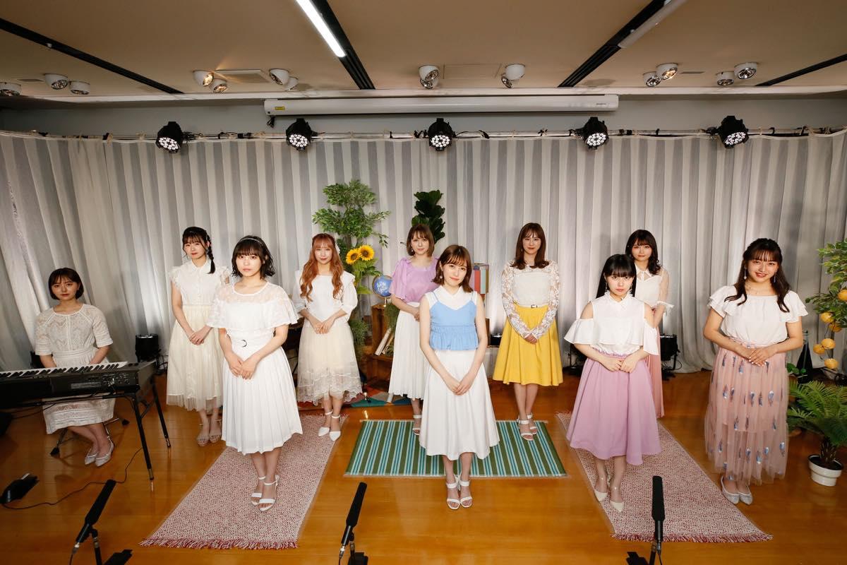 HKT48、約3か月ぶりのLIVE開催!「レッスン場」から生配信!【写真10枚】の画像001