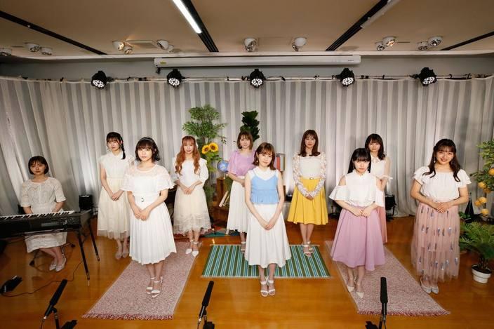 HKT48、約3か月ぶりのLIVE開催!「レッスン場」から生配信!【写真10枚】の画像
