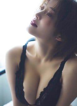高橋凛「オトナの黒ランジェリー」もちもちHカップ乳の画像