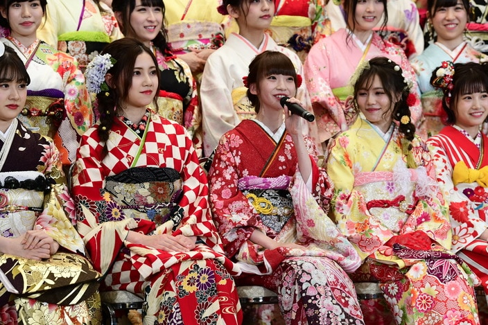 """荻野由佳、運上弘菜ほか、AKB48グループ""""新成人44名""""の振袖姿が可愛すぎる!【写真12枚】の画像"""