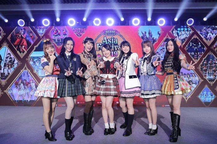 AKB48 7グループが「Asia Festival」を上海で開催することを決定!【写真5枚】の画像