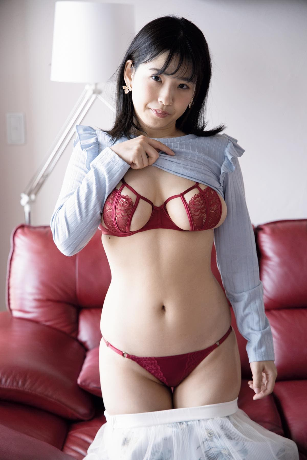 白壁爽子「ボディがはちきれそう!」萌系現役声優のブルンブルンHカップの画像008