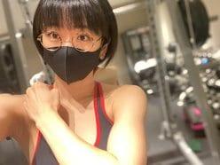 時東ぁみ「トレーニングウェアで美ワキちら」息をするのを忘れるほどに…?の画像