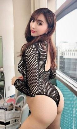 森咲智美「ハダカよりもセクシー!」全身網ハイレグで悩殺【画像2枚】の画像