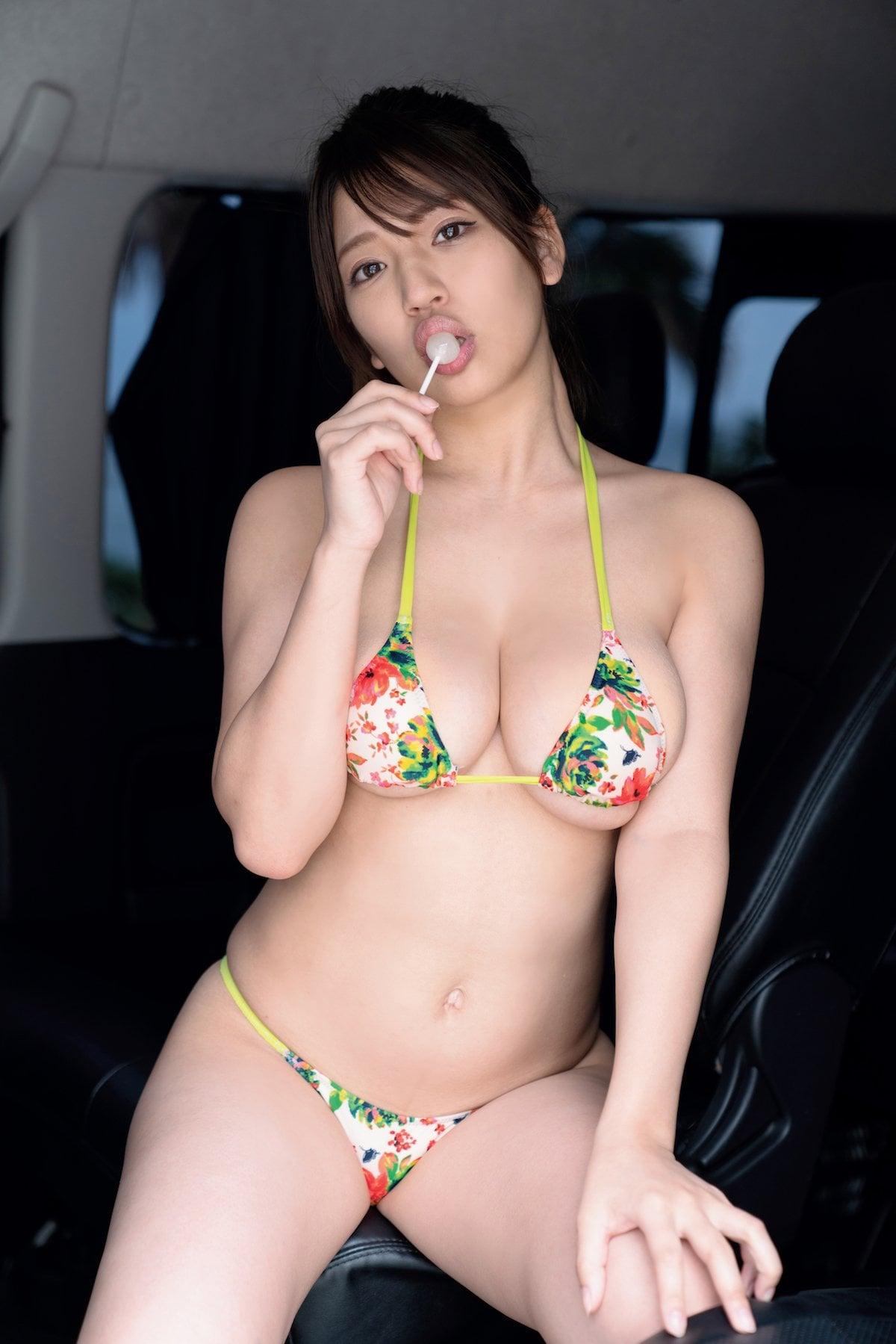 藤乃あおい「加賀百万石バスト」100センチIカップが躍動!【画像9枚】の画像009