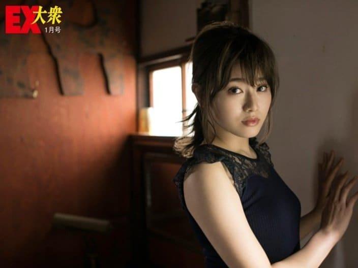 【本誌未公開】欅坂46守屋茜さん編<EX大衆1月号>の画像