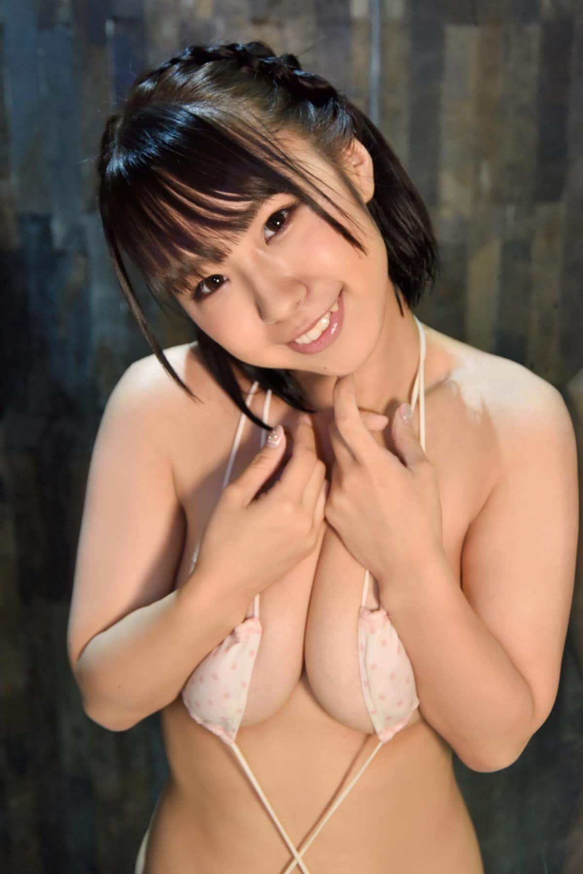 立川愛梨「小悪魔童顔むっちりボディ」90cmHカップがフレッシュに弾ける!【写真9枚】の画像008