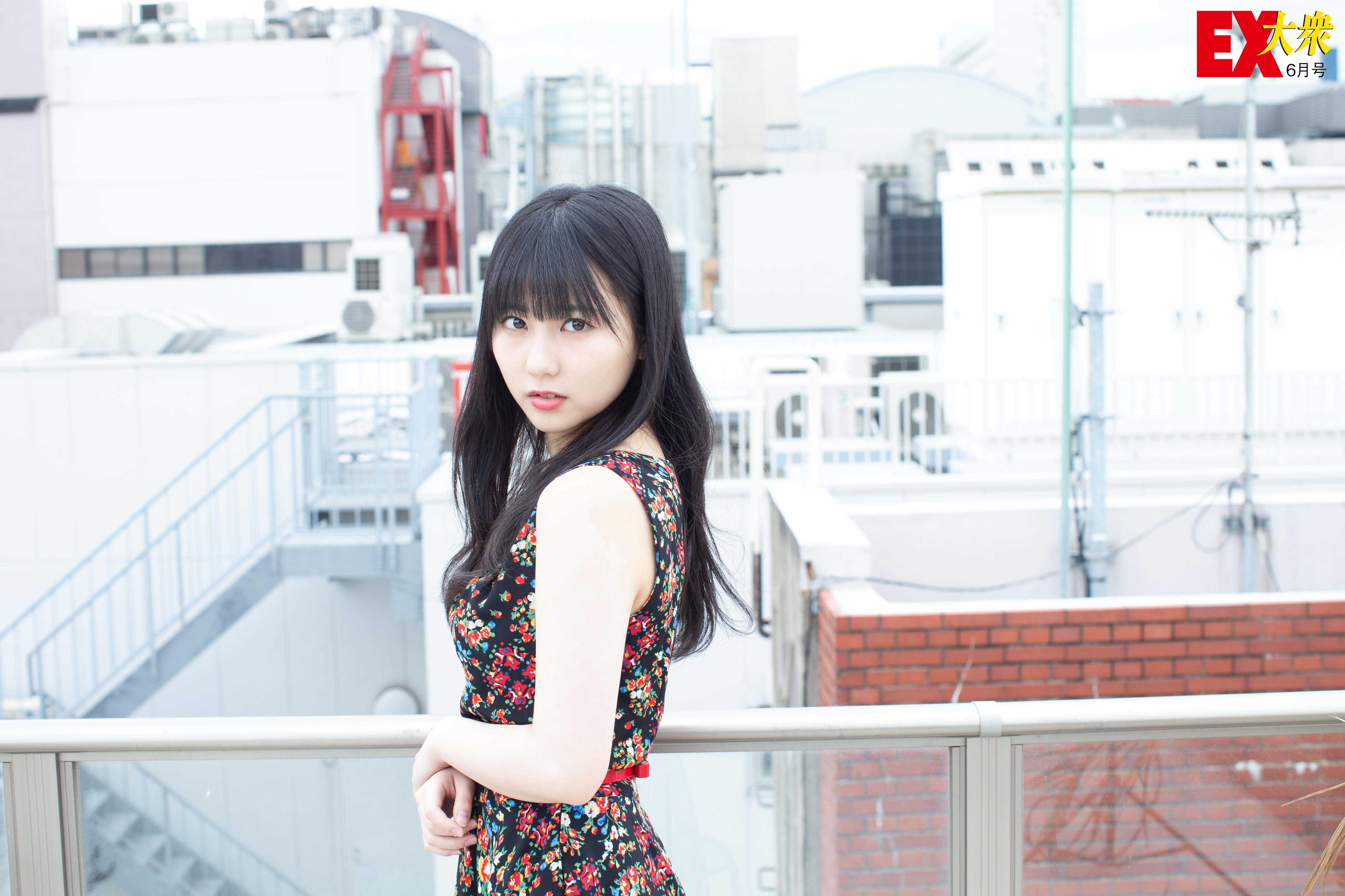 HKT48田中美久の本誌未掲載カット8枚を大公開!【EX大衆6月号】の画像006