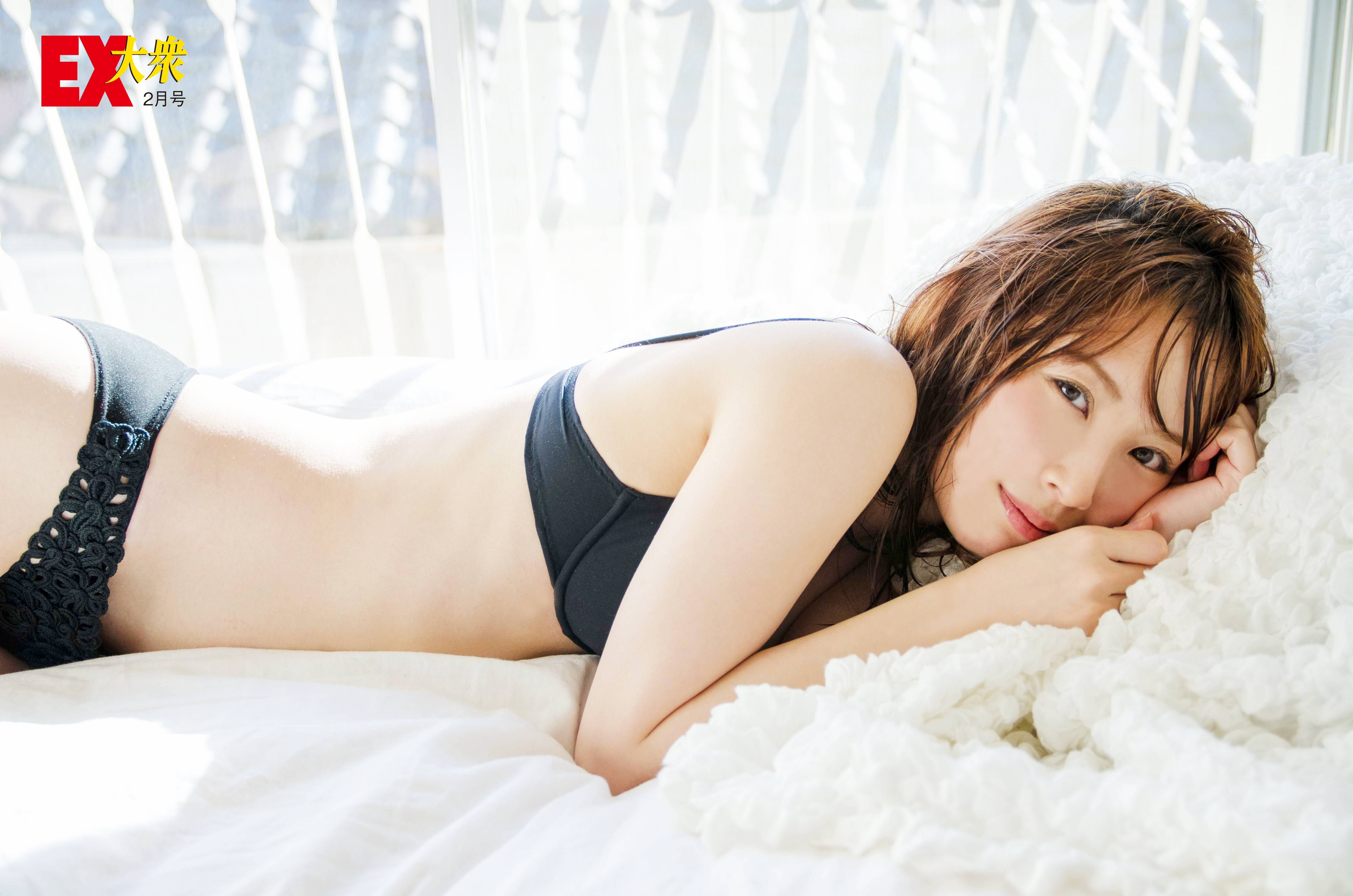 SKE48高柳明音の本誌未掲載カット5枚を大公開!【EX大衆2月号】の画像005