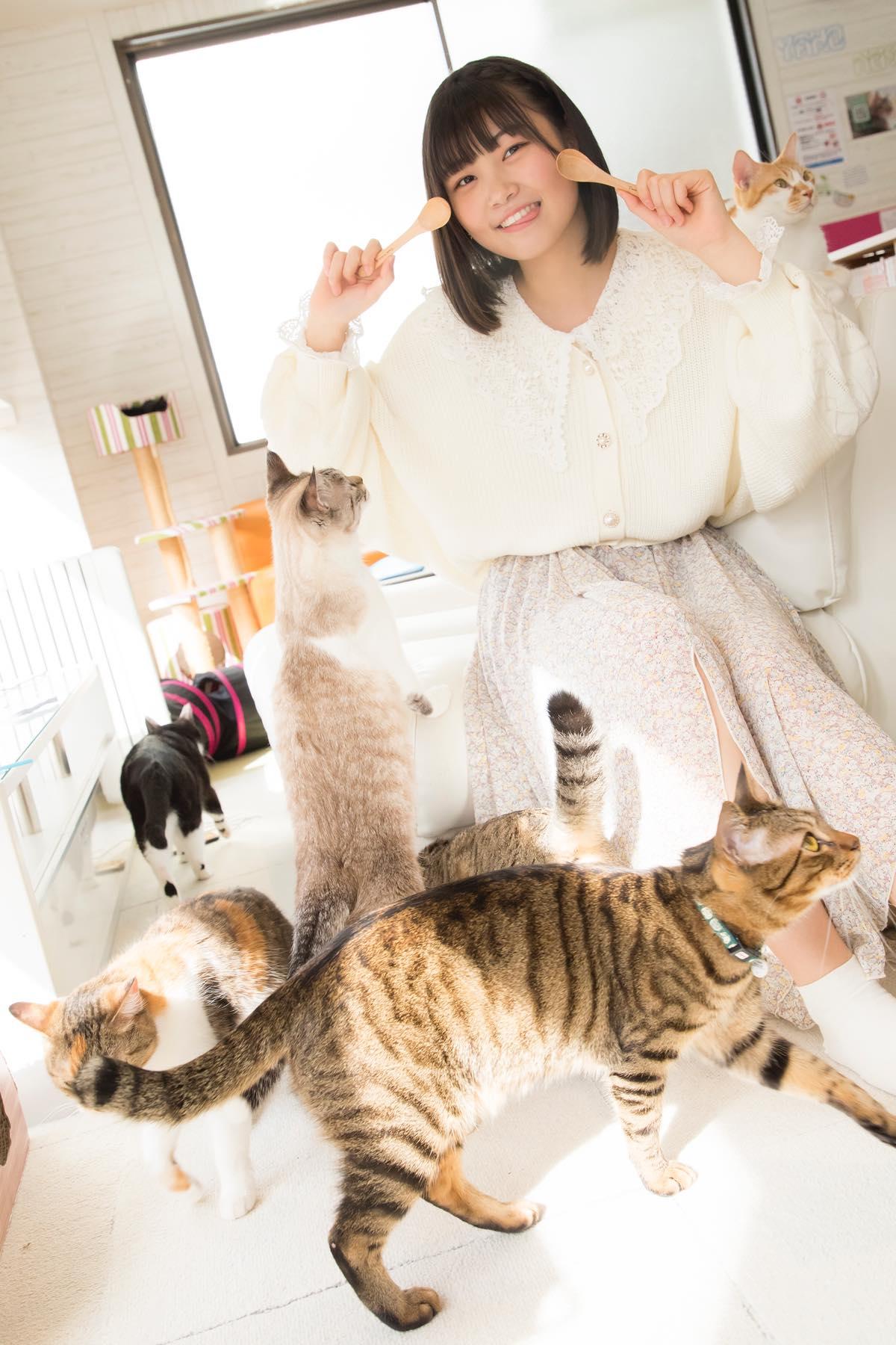 小澤愛実「猫に愛されることはできるのか」【写真48枚】【連載】ラストアイドルのすっぴん!vol.19の画像035