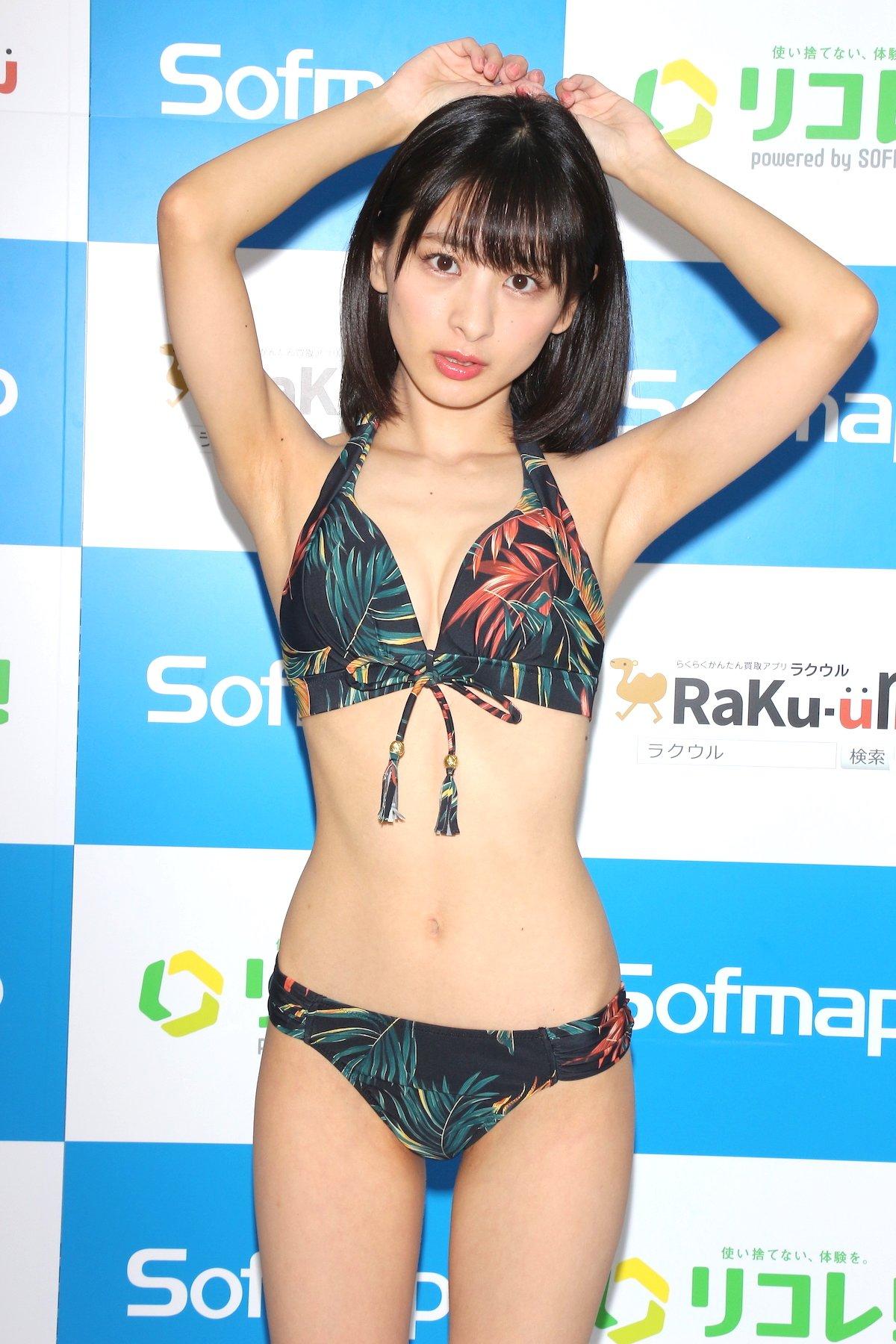 牧野澪菜「144cmのセクシーボディ」スクール水着でやらかしちゃった【画像61枚】の画像020