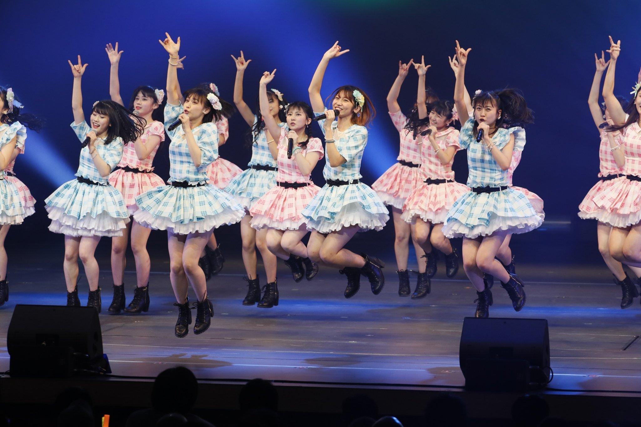 HKT48の若手メンバー、〈F24〉の公演が満員御礼!【写真20枚】の画像001