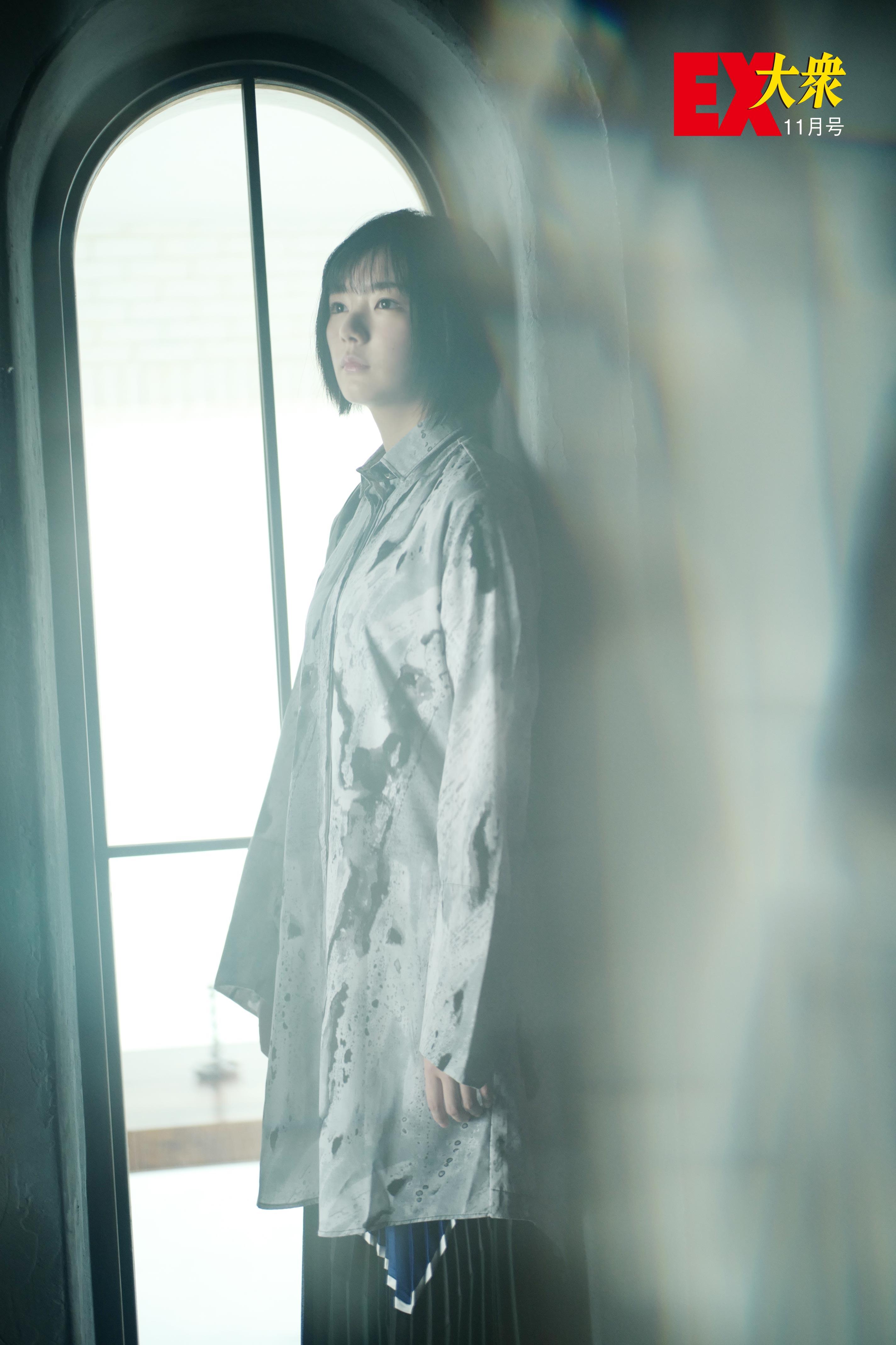 欅坂46藤吉夏鈴の本誌未掲載カット4枚を大公開!【EX大衆11月号】の画像003