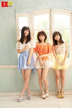SKE48太田彩夏、都築里佳、荒井優希の未公開グラビア【EX大衆8月号】の画像