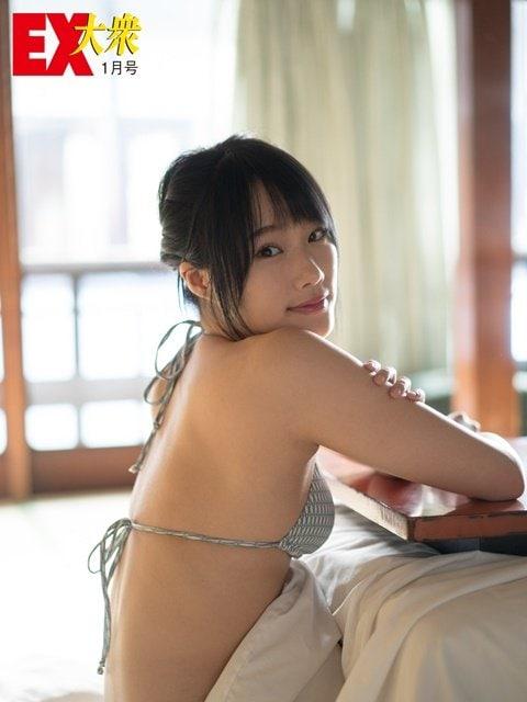 【本誌未公開】NMB48城恵理子さん編<EX大衆1月号>の画像002