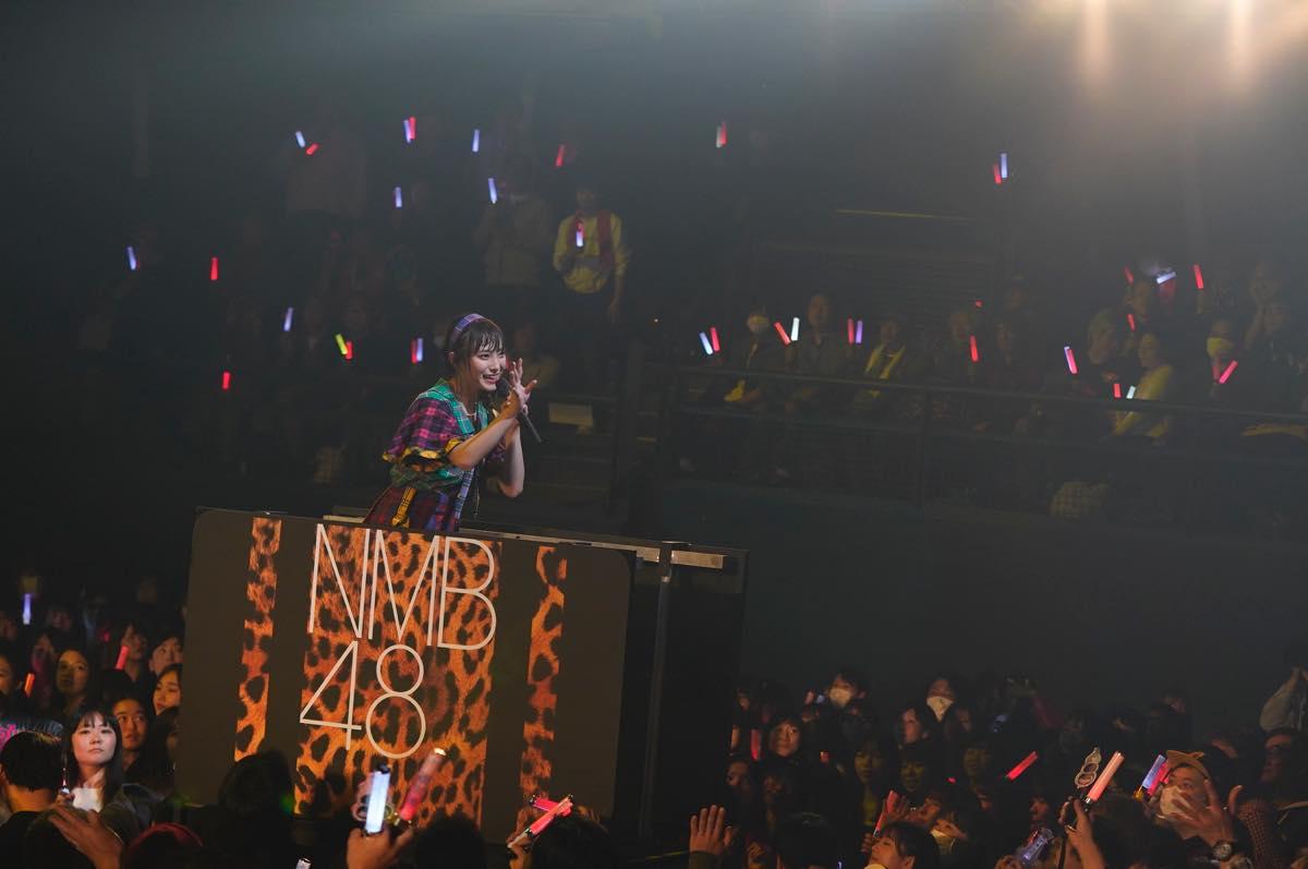 NMB48梅山恋和ソロコンサートの画像3
