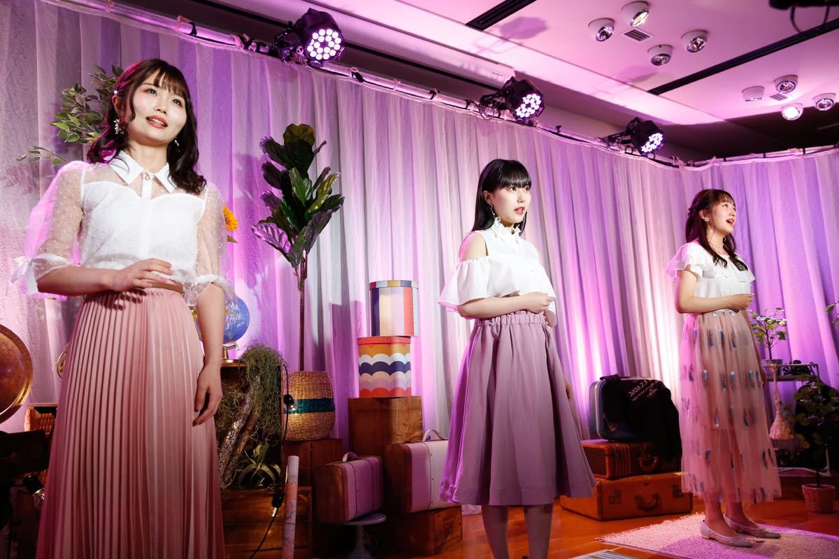 HKT48、約3か月ぶりのLIVE開催!「レッスン場」から生配信!【写真10枚】の画像005