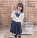 元STU48森香穂「清純からのギャップがすごい」制服を脱いだらこんなにセクシー…【画像2枚】の画像002