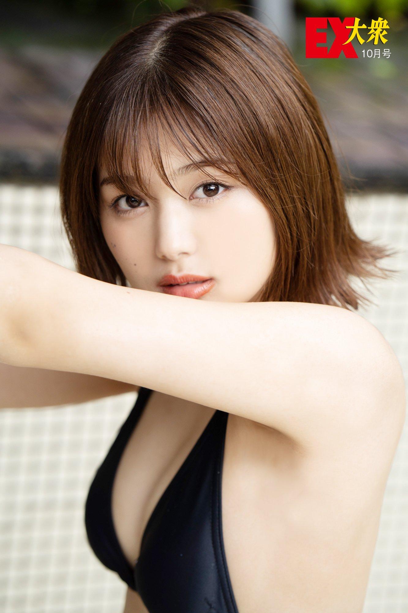 SKE48北野瑠華の本誌未掲載カット6枚を大公開!【EX大衆10月号】の画像002