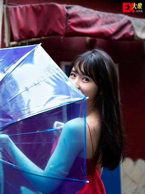 【本誌未公開】HKT48松本日向さん編<EX大衆12月号>の画像002