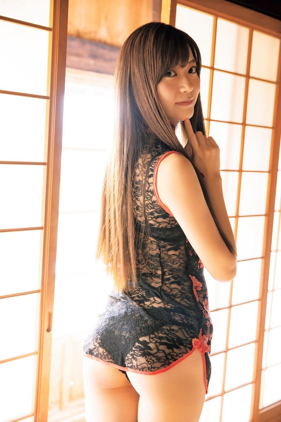 田中めい「ちっぱい美女」にはハイレグがよく似合う【写真7枚】の画像004