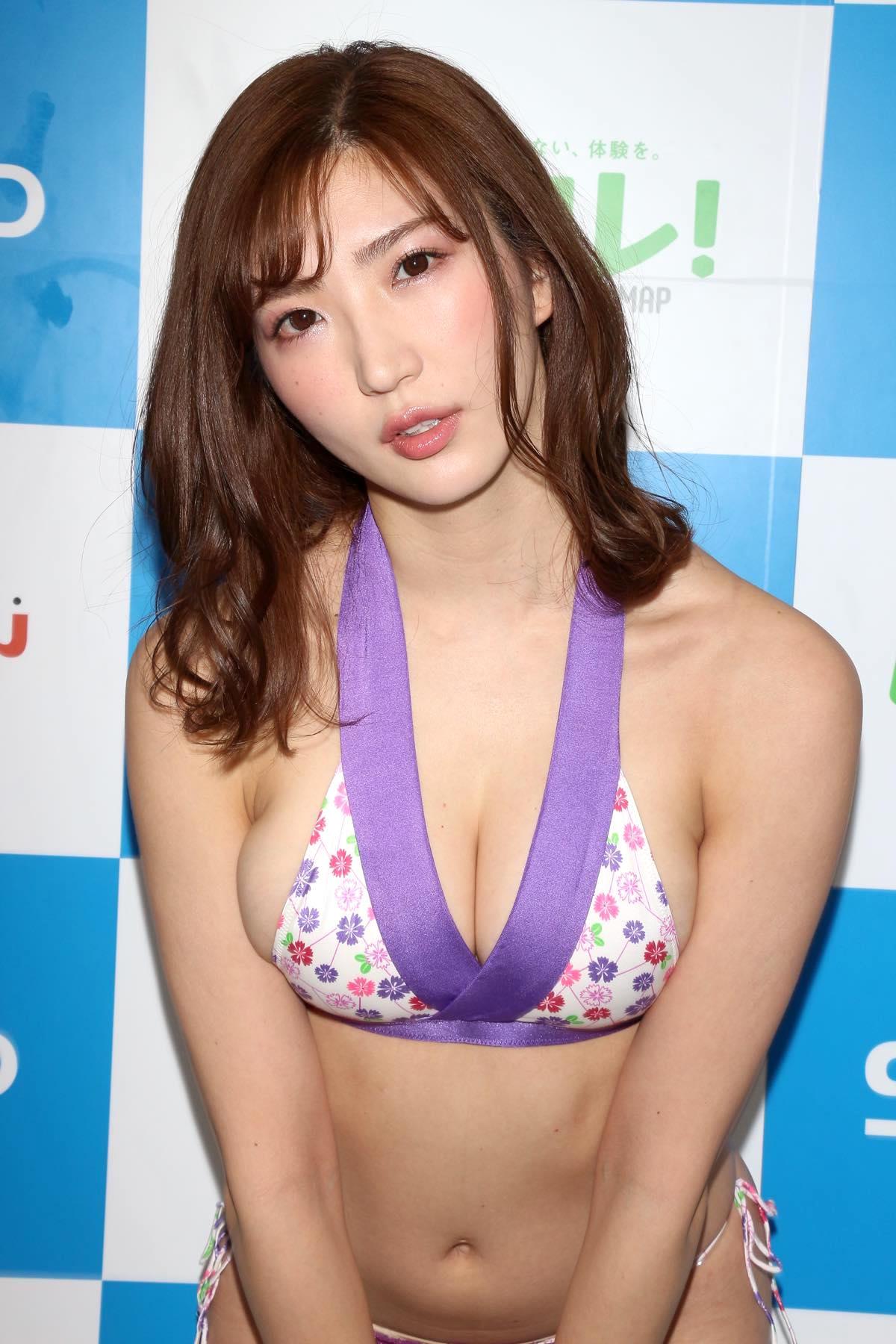 松嶋えいみのグラビア水着ビキニ画像026