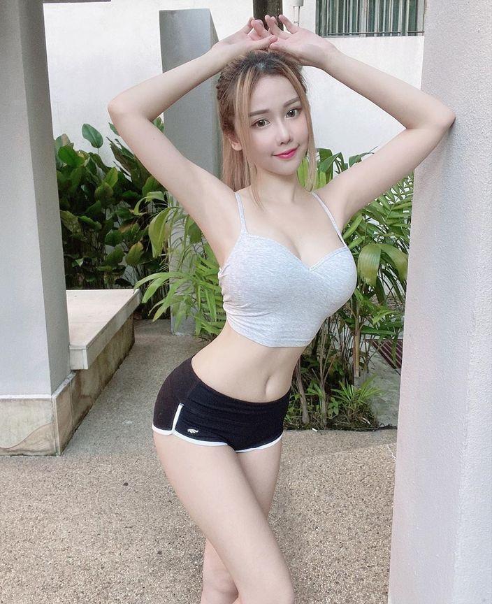 台湾人モデル・ジェナ「前と後ろどっちが好き?」問いかけにファン興奮【写真2枚】の画像