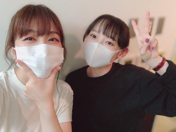 声優・愛美「現実でもコラボ!」南條愛乃とのツーショット披露に反響の画像