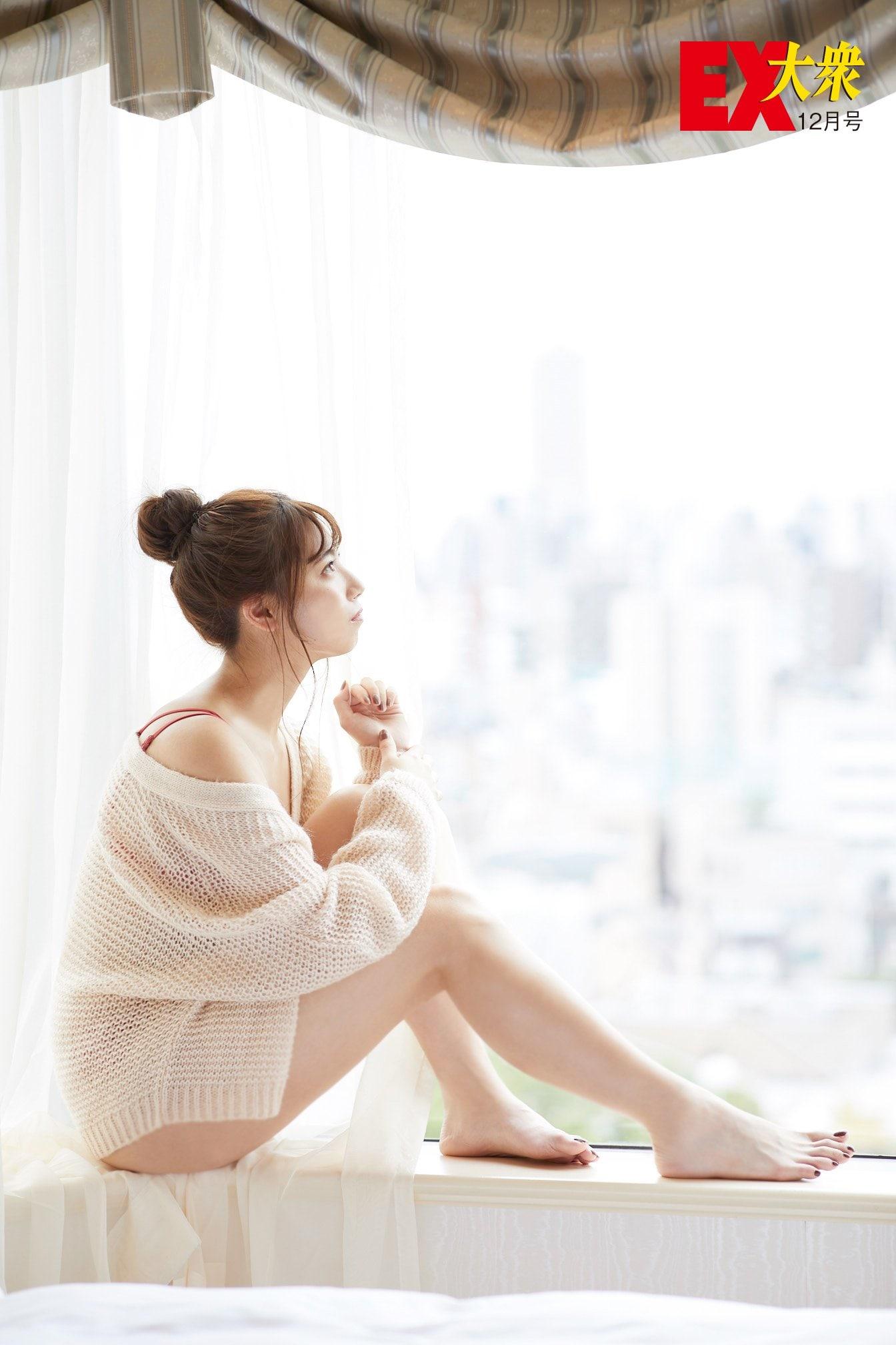 SKE48荒井優希の本誌未掲載カット6枚を大公開!【EX大衆12月号】の画像002