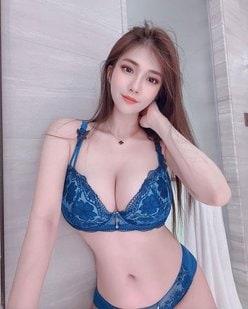 台湾モデル・ビビアン「美乳すぎる美乳」お気に入りランジェリーでファンを誘惑の画像