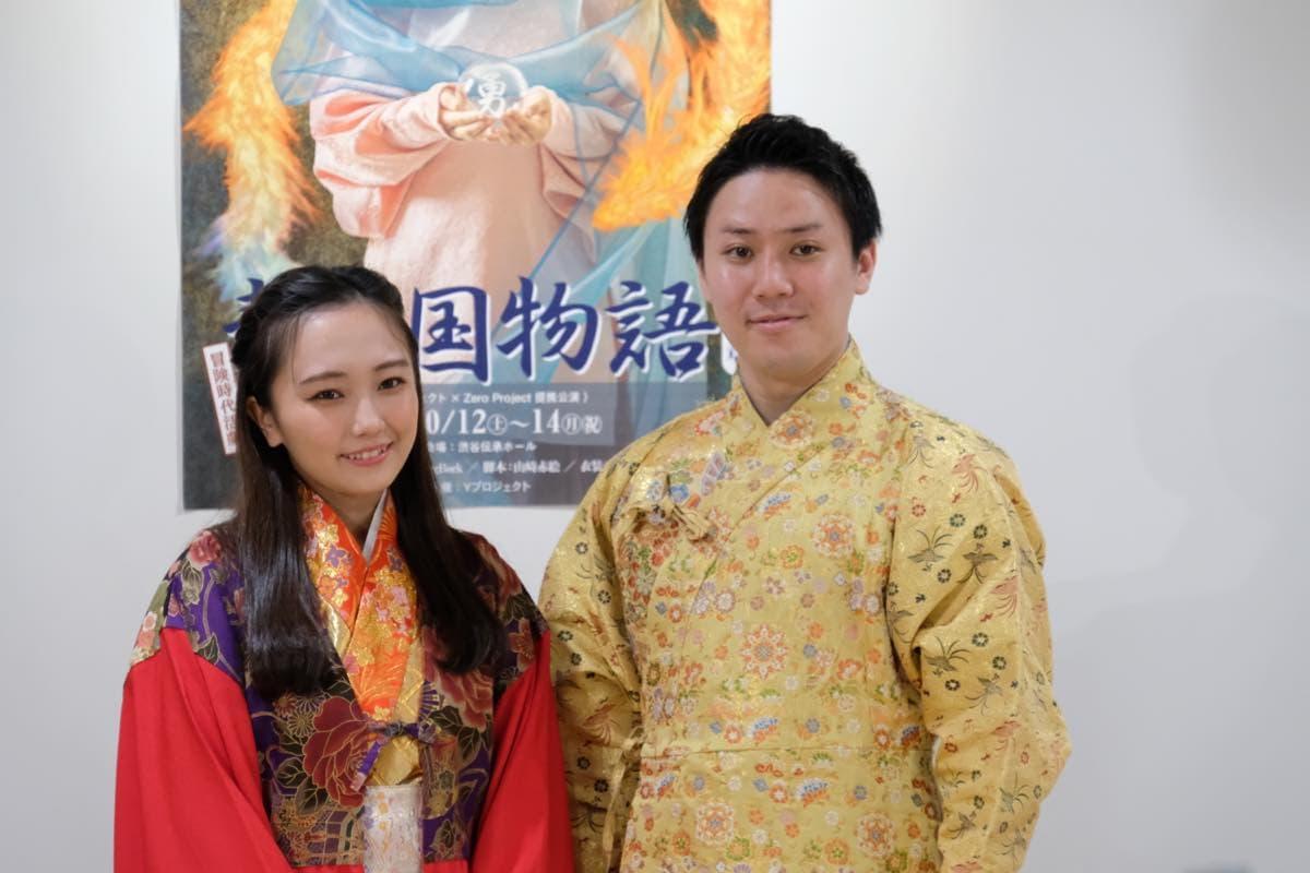 グラドル阿南萌花が時代劇公演『静の国物語』に挑戦!の画像003
