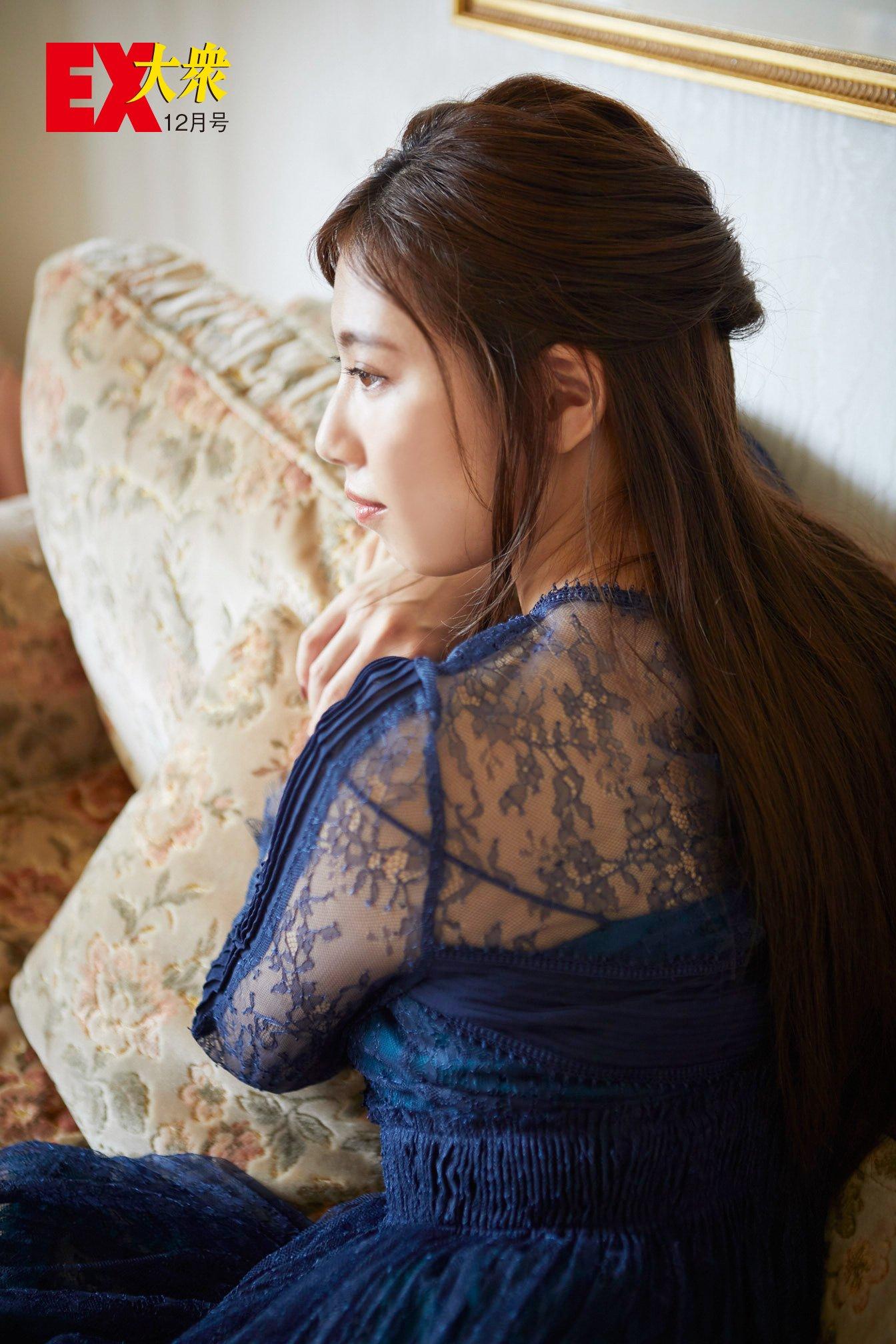 SKE48荒井優希の本誌未掲載カット6枚を大公開!【EX大衆12月号】の画像005