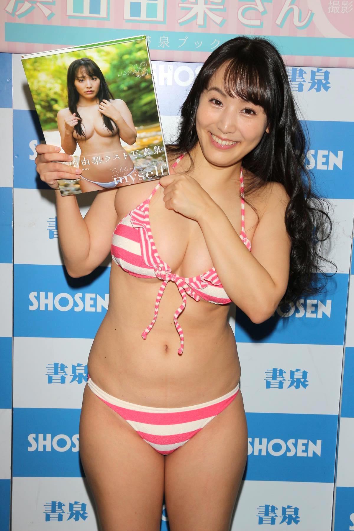 浜田由梨のグラビア水着ビキニ画像037