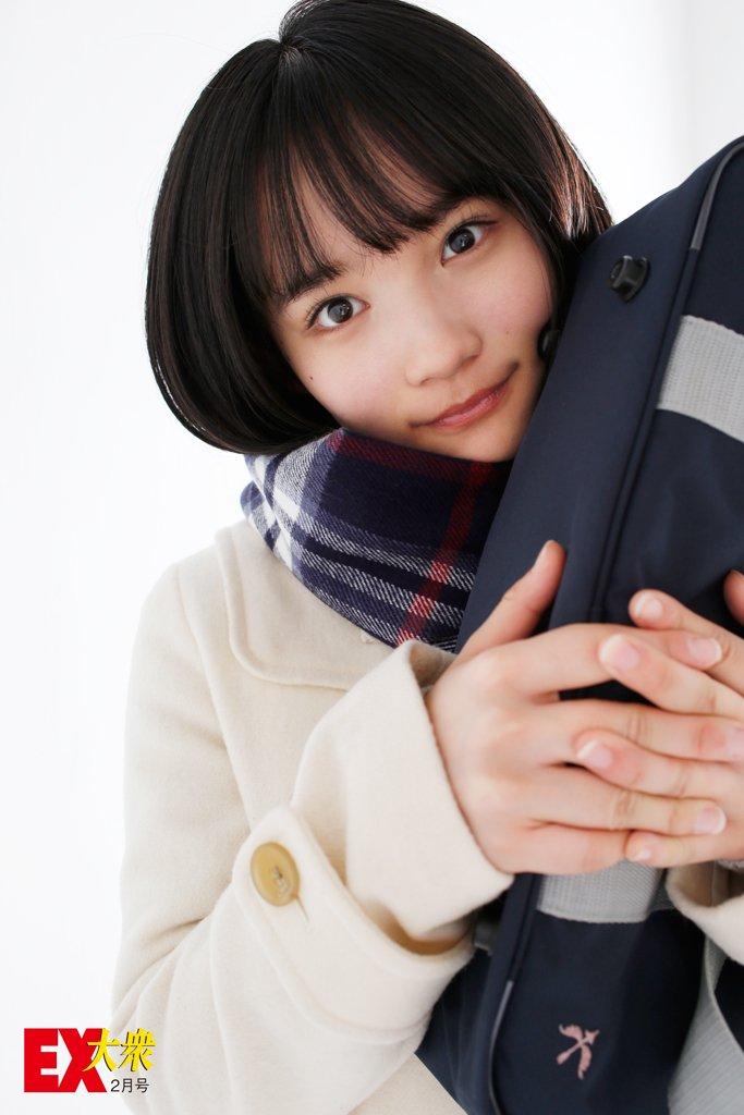 AKB48矢作萌夏の本誌未掲載カット8枚を大公開!【EX大衆2月号】の画像001