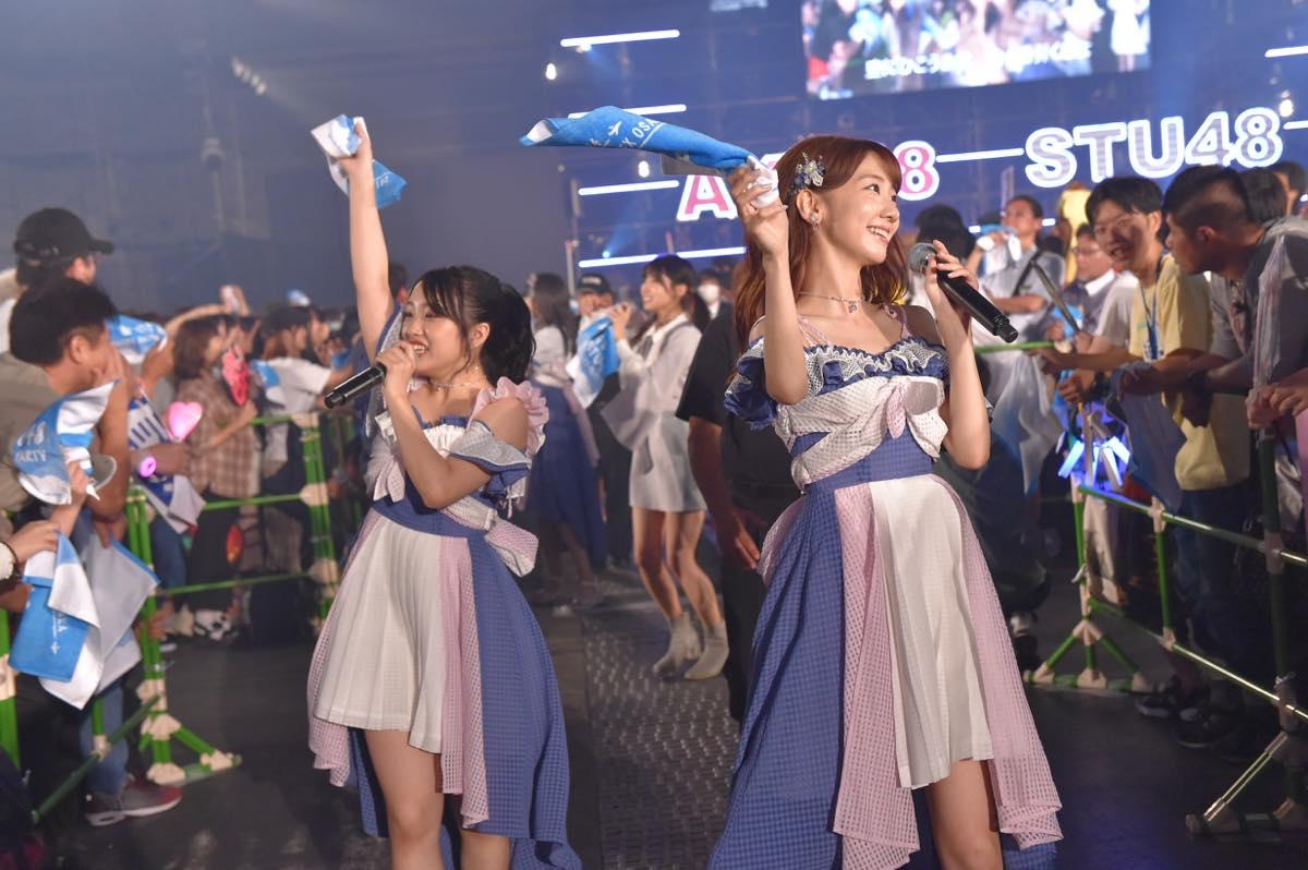 AKB48とSTU48が合同握手会開催!STU48の全国ツアー開催も発表【写真20枚】の画像003