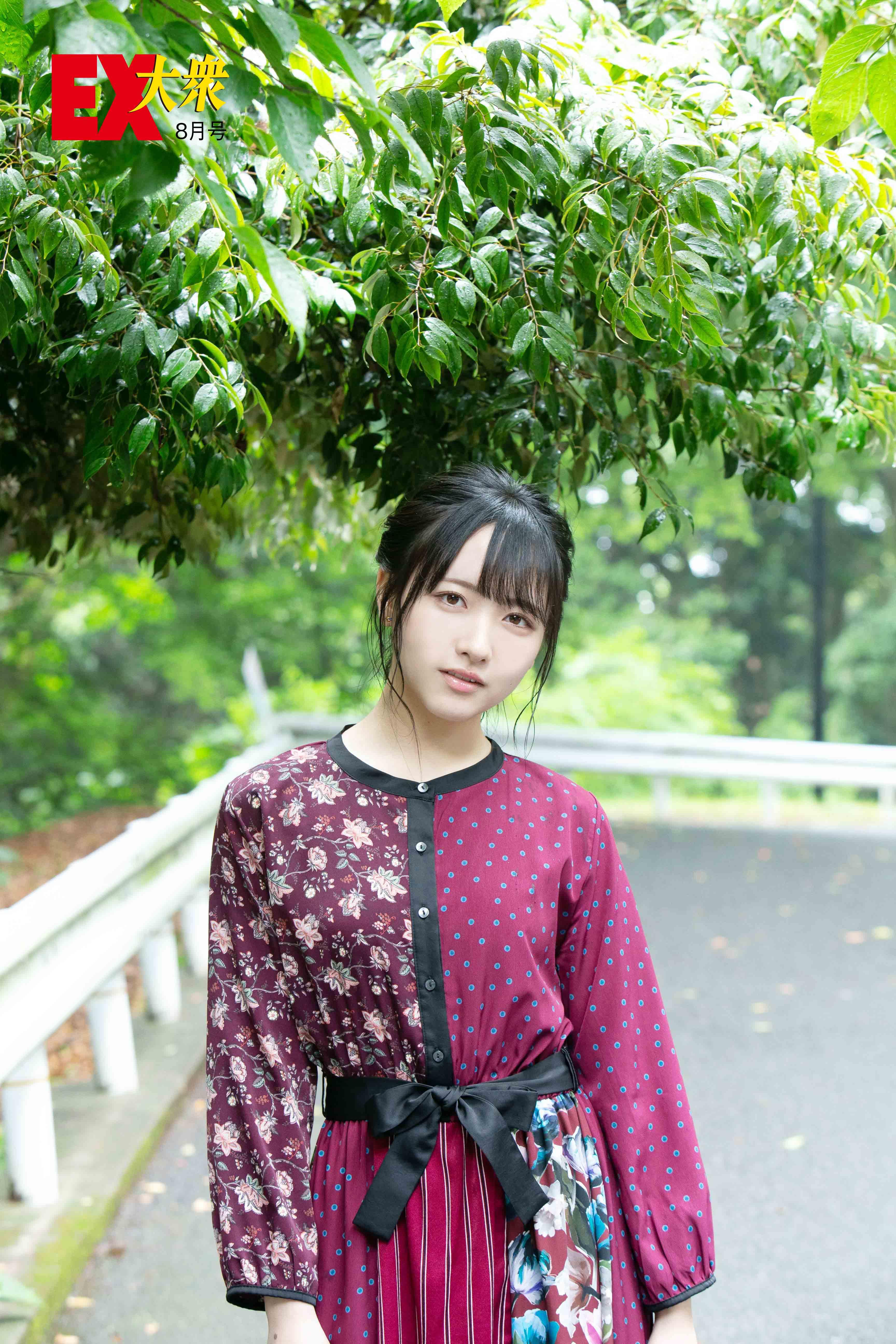 STU48石田千穂の本誌未掲載カット3枚を大公開!【EX大衆8月号】の画像003