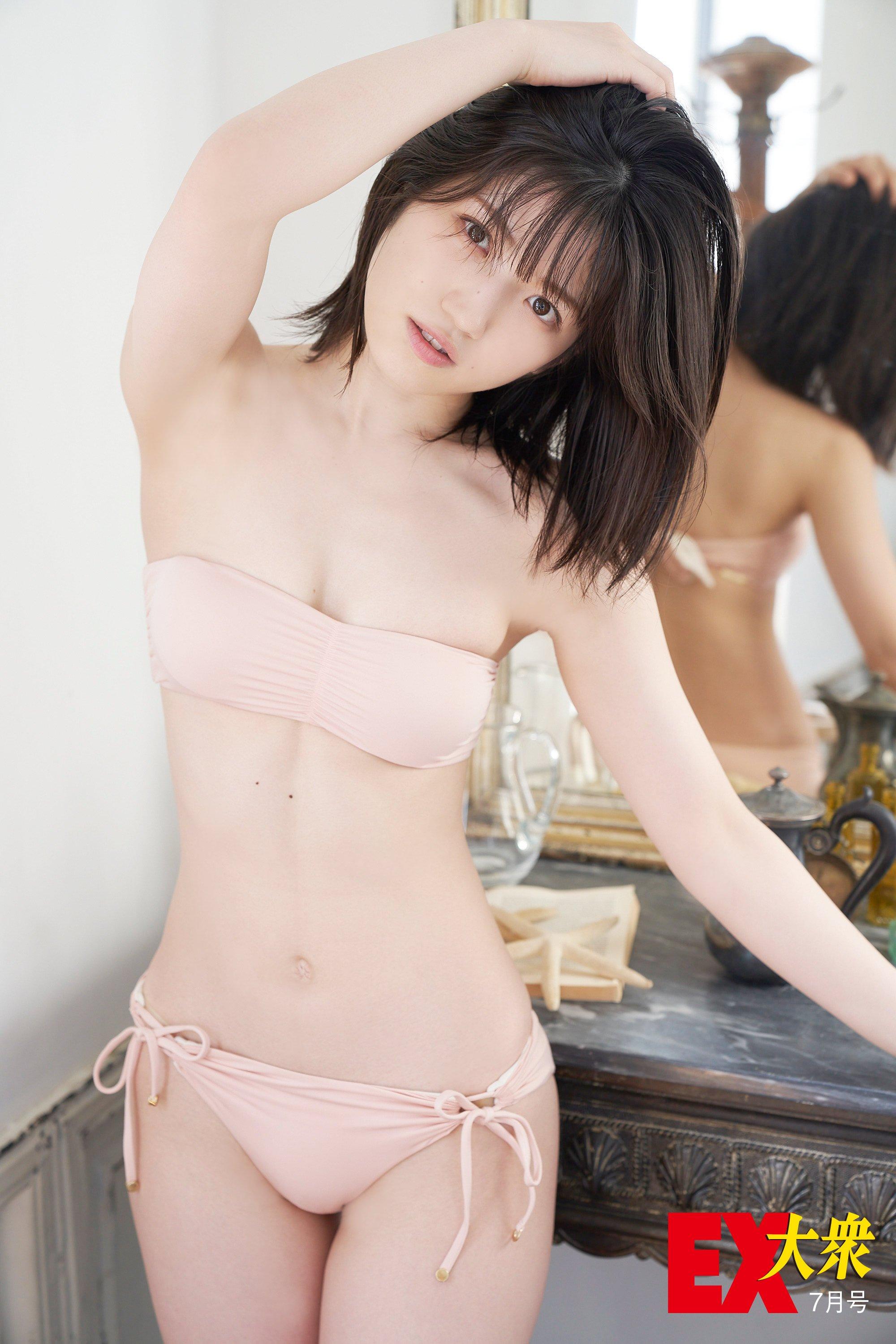 AKB48村山彩希の本誌未掲載カット10枚を大公開!【EX大衆7月号】の画像009