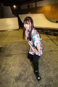 米田みいな「初めてのインラインスケートでなぜかにゃんこスターのモノマネ!?」【写真37枚】【連載】ラストアイドルのすっぴん!vol.21の画像025