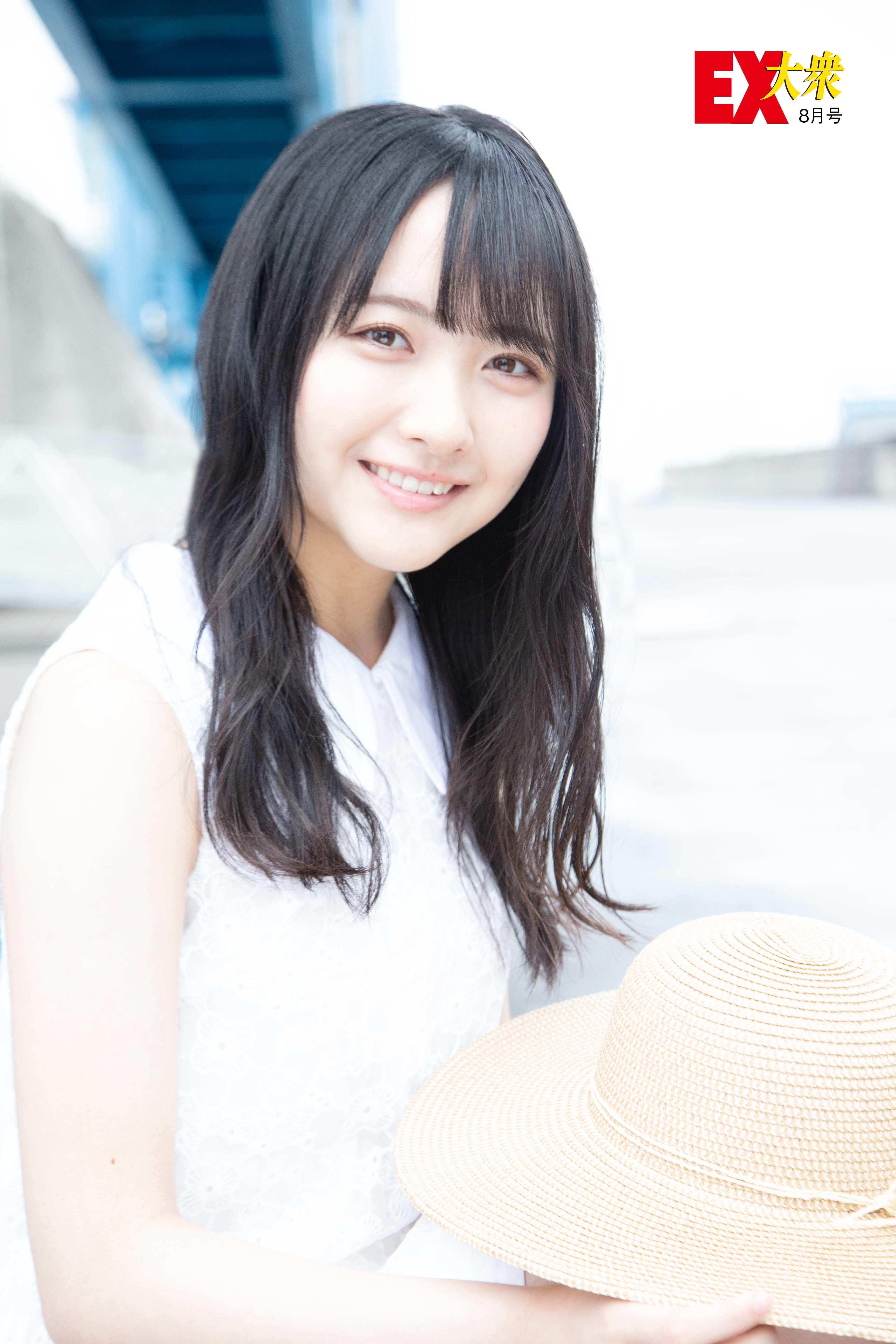 STU48石田千穂の本誌未掲載カット3枚を大公開!【EX大衆8月号】の画像001