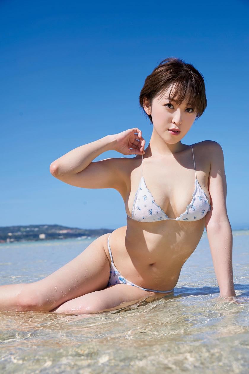 忍野さら「色気ムンムン」ショート美女のゆるふわボディ【写真9枚】の画像002