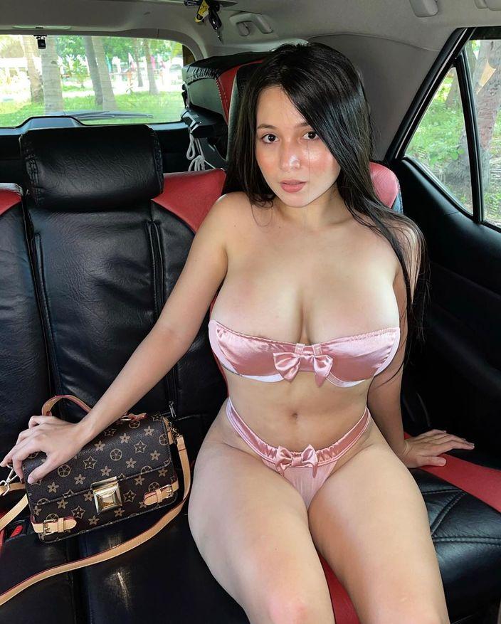 パンドラ・カーキ「フィリピン美乳の最高峰!」車内で香り立つフェロモンと小さめビキニにファン興奮【画像2枚】の画像