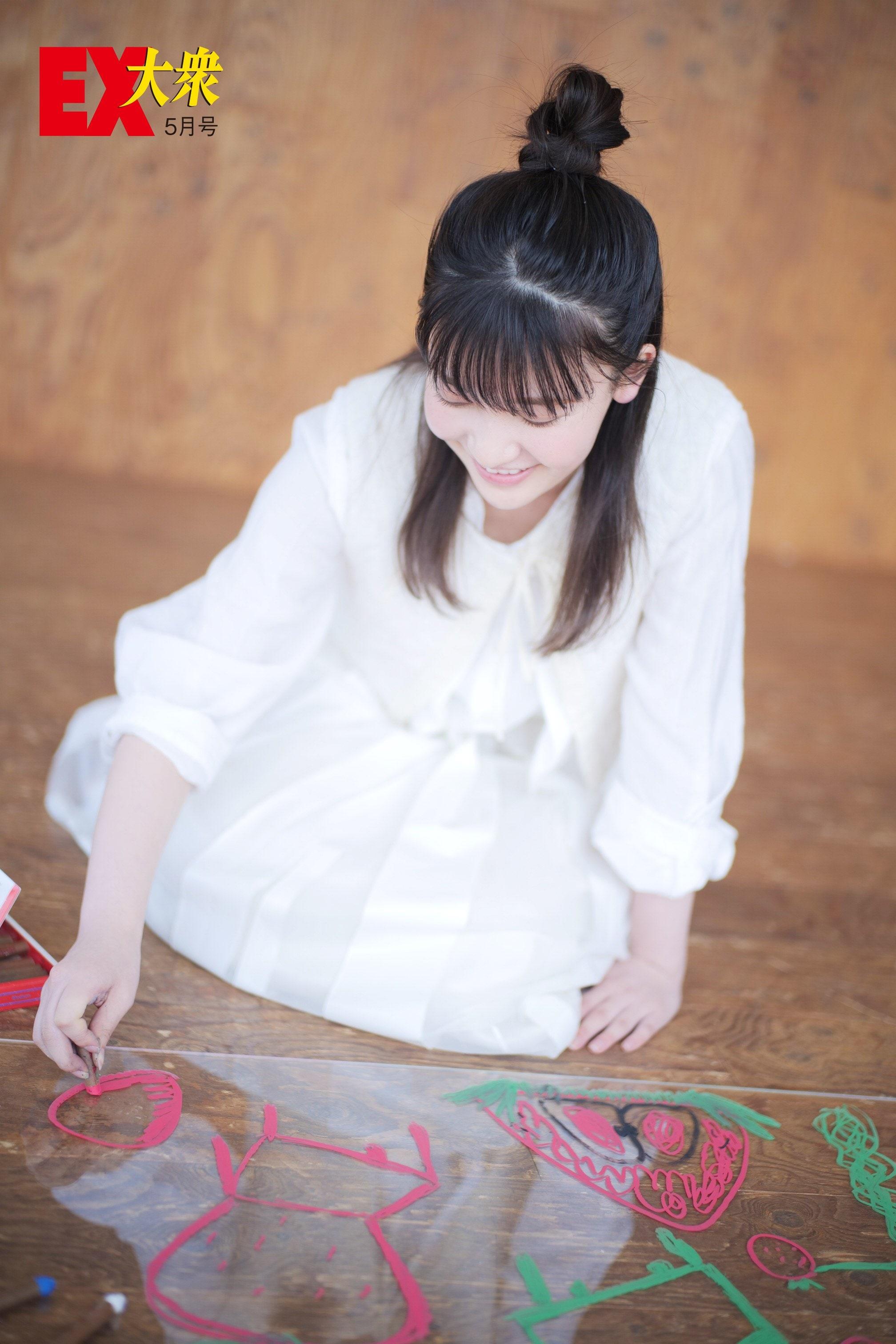 櫻坂46大沼晶保の本誌未掲載カット4枚を大公開!【EX大衆5月号】の画像002