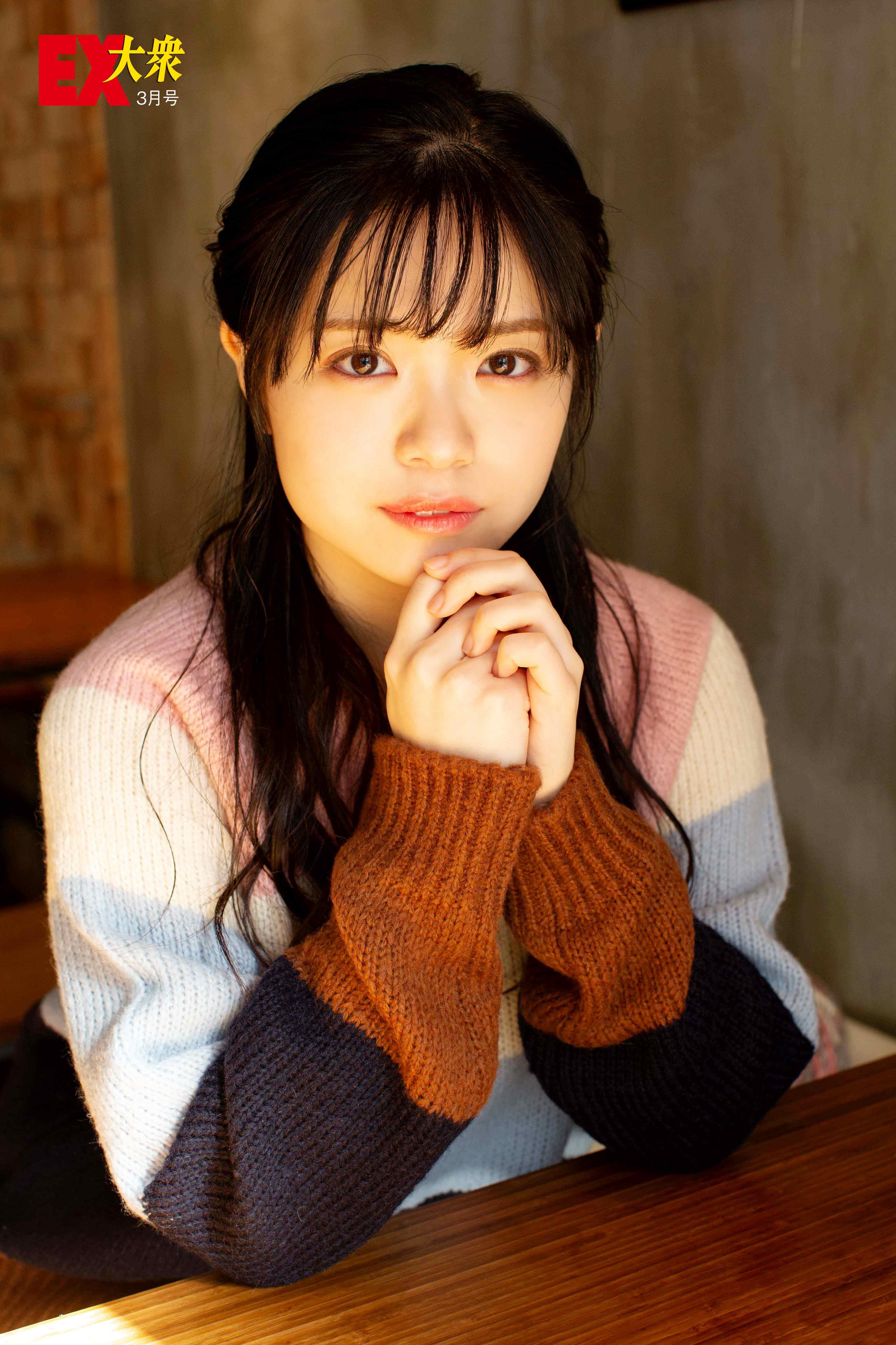 NMB48小川結夏の本誌未掲載カット3