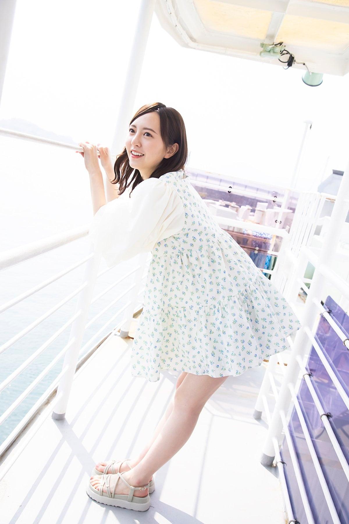HKT48卒業の森保まどか「さまざまな表情で魅了」ラストフォトブックを発売!【画像8枚】の画像006