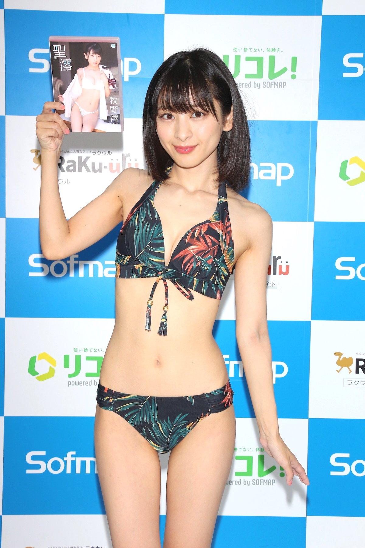 牧野澪菜「144cmのセクシーボディ」スクール水着でやらかしちゃった【画像61枚】の画像046